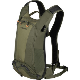 Shimano Unzen II Trail Backpack 6l Olive Green
